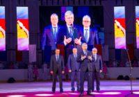 Новую ледовую арену торжественно открыли в городе атомщиков