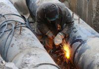 Аварийно -ремонтные работы на тепловой сети 10 января