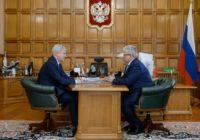 В правительстве Воронежской области прошла встреча главы региона и директора Нововоронежской АЭС