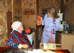 Информация о предоставлении социального обслуживания на дому