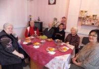 Праздничное чаепитие в городском Обществе инвалидов